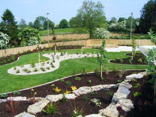 Ac landscaping for Irish garden designs